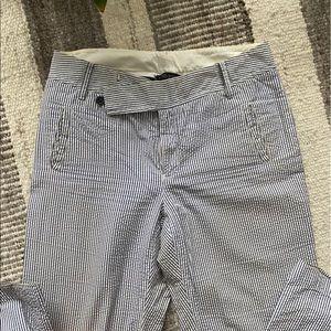 Banana Republic seersucker pants